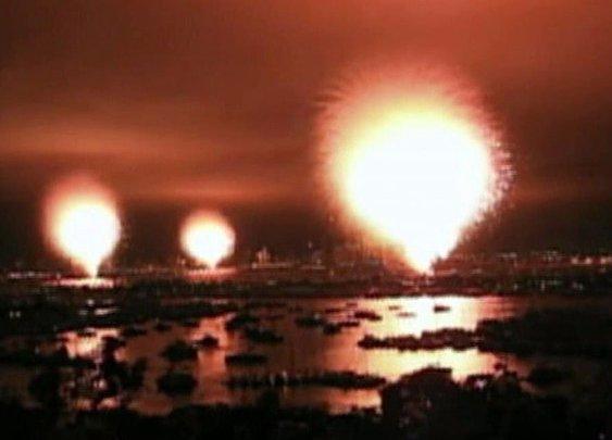 Epic fireworks failure in San Diego
