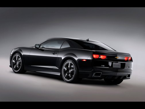 CHEVROLET camaro black concept 2 photo