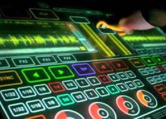 Touch DJ mixer