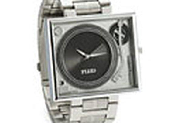 Turntable Metal Wristwatch