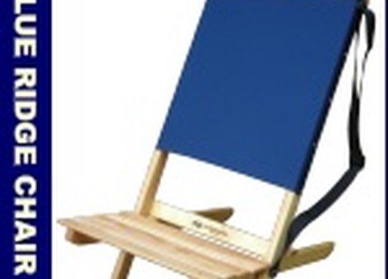 Blue Ridge Folding Wooden Chair