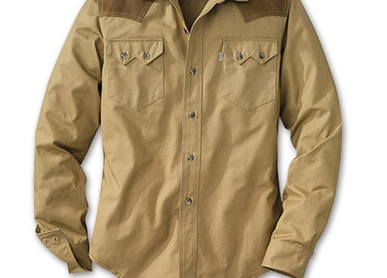 Tin Cloth Sawtooth Shirt | Filson