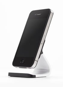 Bluelounge Milo iPhone/Smartphone Stand - White