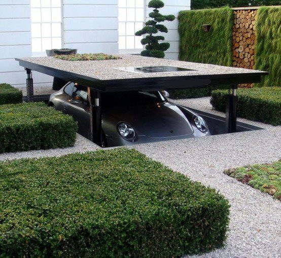Just a Wallace and Gromit inspired drive way - Imgur