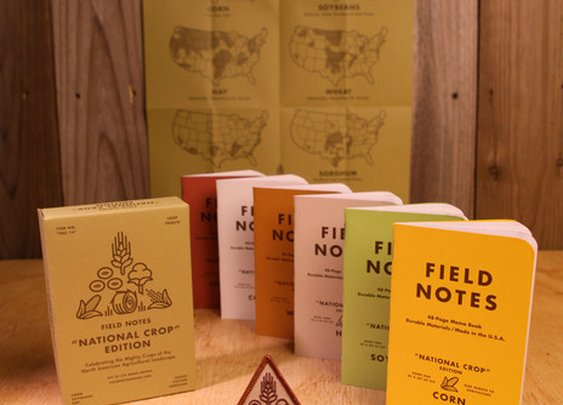 Field Notes National Crop Edition Box Set