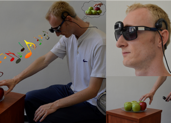 Novel system guides the blind by turning images into music