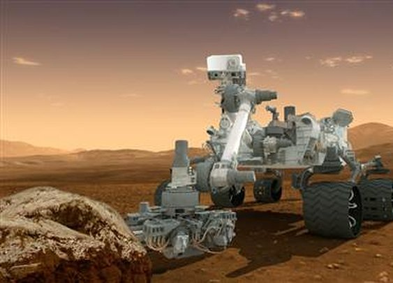 Hints of life on Mars just below surface?