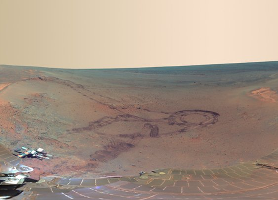 With Mars Rover's Newest Panorama, It Feels Like You're There