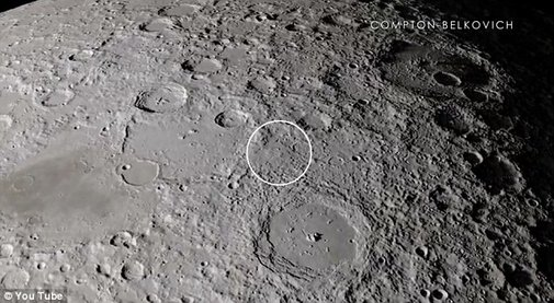 Nasa offers detailed HD tour of the moon... including the dark side  | Mail Online