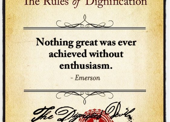 The Rules of Dignification  - Seventy Two