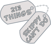 Skippy's List  Skippy's List: The 213 things Skippy is no longer allowed to do in the U.S. Army » Skippy's List
