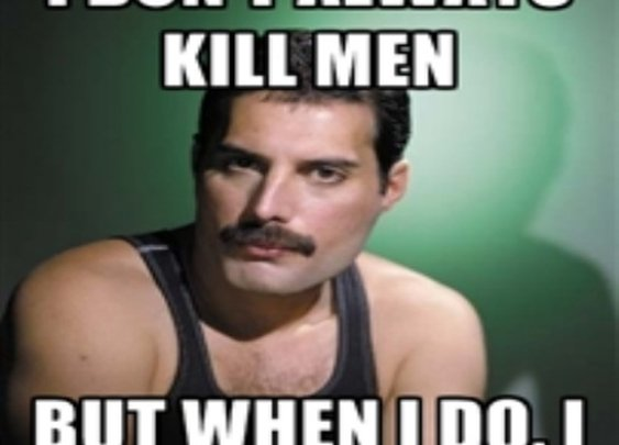 Freddie Mercury on Bohemian Rhapsody