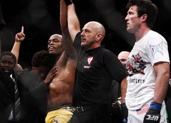 Anderson Silva vs. Chael Sonnen Fight Video Highlights - MMA Fighting