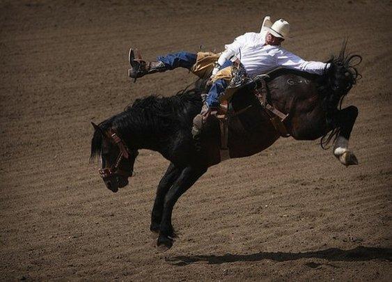 Be a cowboy
