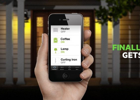 """Belkin's """"WeMo"""" - Home Automation iPhone App"""