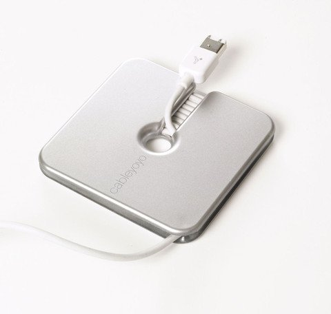 Bluelounge Cableyoyo Cord Manager 3-Pack - Silver