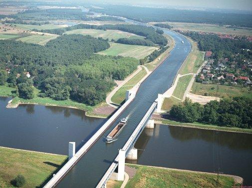 Magdeburg Water Bridge - 9 Wows