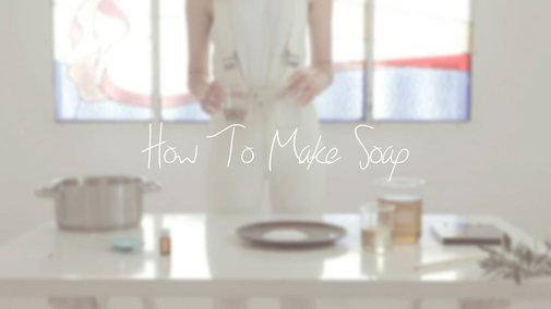 How to make soap. Video