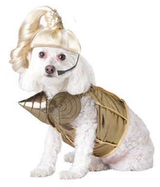 Dog Costume Of The Week: Blond Hambition