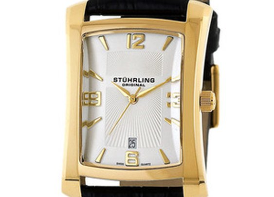 Men's Lifestyles Gatsby Classic Gold Watch