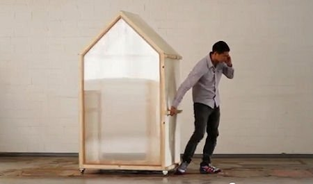 The Presurfer: Architect Creates The 'One Square Meter' House