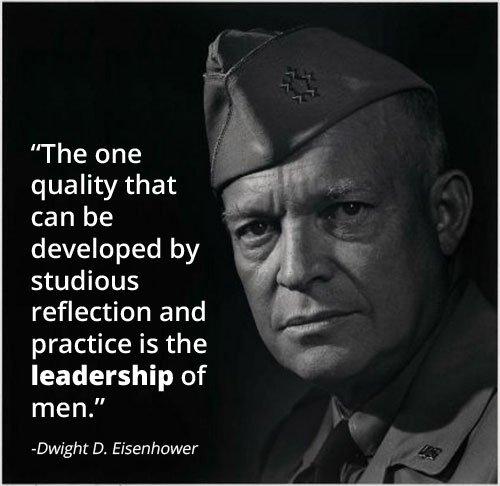 Leadership Lessons from Eisenhower: