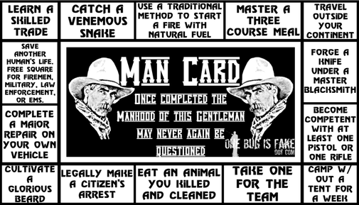The Man Card: