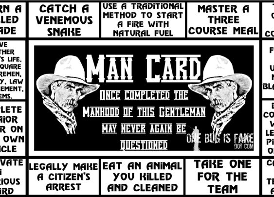 The Man Card: