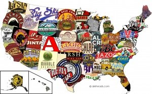 THE BEST BEER BY STATE «  ALEHEADS
