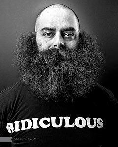A Book of Beards - Justin James Muir - Stop Cancer