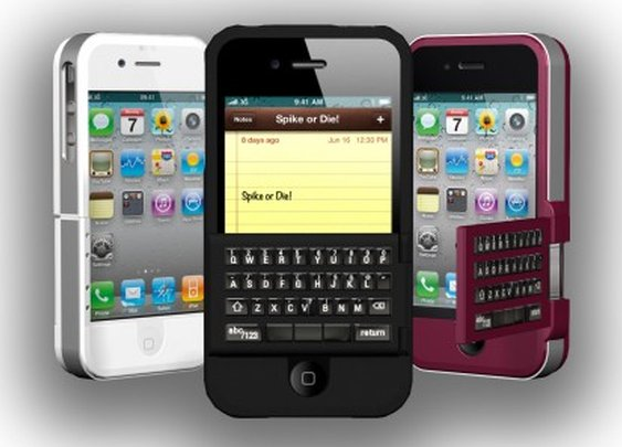 Spike: A flippin' keyboard case combo for iPhone