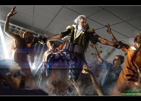 George Washington Zombie Hunter