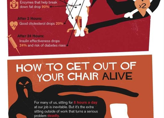 Sitting is killing you.