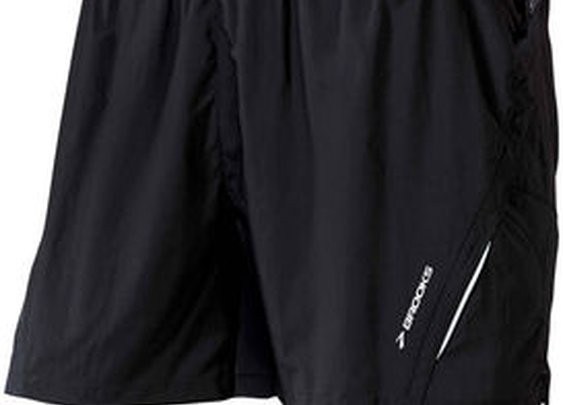 Men's 2-in-1 running shorts: Brooks Infiniti Notch Short II