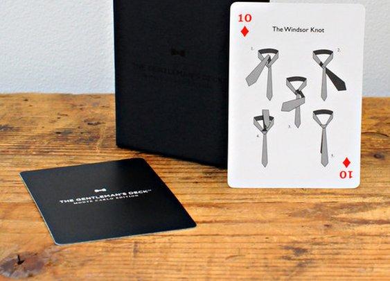 Gentleman's Deck Cards