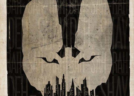 Minimalist Movie Posters: The Dark Knight Rises