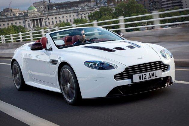 Aston Martin V12 Vantage Roadster   Uncrate