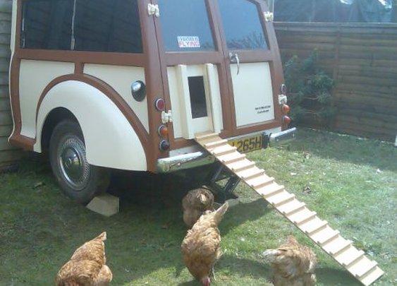 Maurice Chicken Coop Car - BackYard Chickens Community