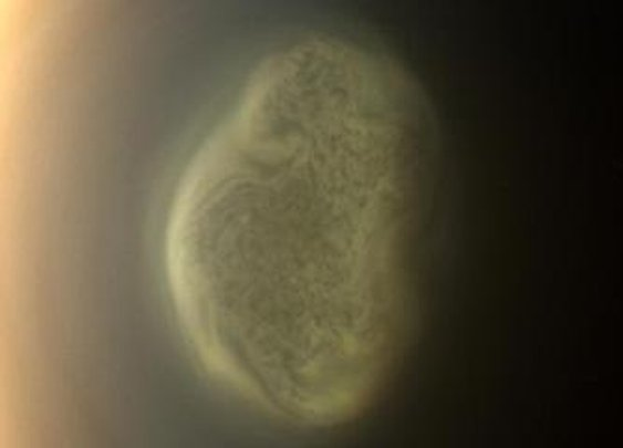 Strange Vortex On Saturn Moon Titan | Space.com