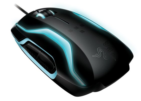 The Razer TRON Gaming Mouse