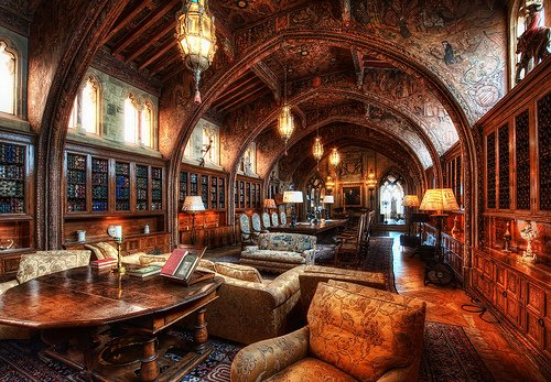 The Libraries of 15 Famous Men