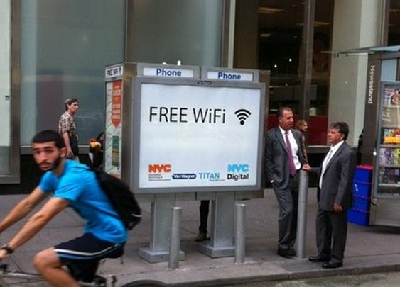 New York starts turning payphones into free Wi-fi hotspots — 		Tech News and Analysis