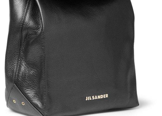 Jil Sander Leather Lunch Bag
