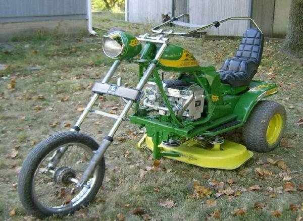 Now THAT'S a lawnmower.