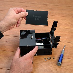 ThinkGeek :: Useless Box Kit