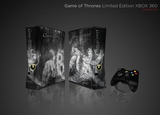 Games of Thrones Limited Edition XBOX 360