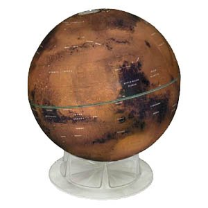Mars Globe   Globes - Models - Space Toys