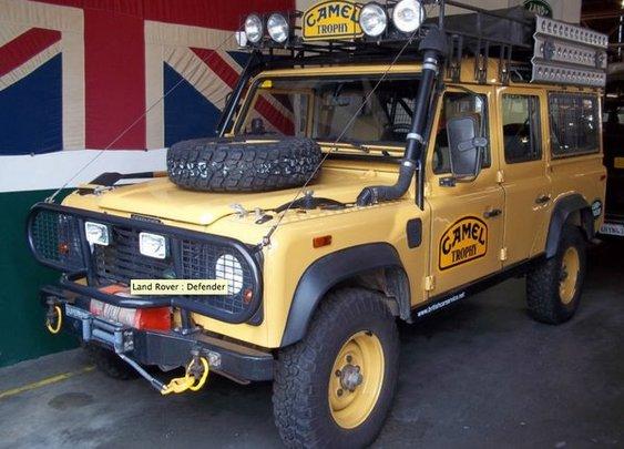 Camel Trophy Land Rover Defender 110 200tdi
