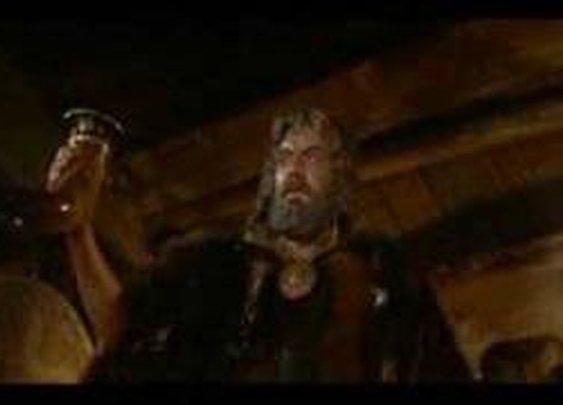 Ernest Borgnine as Ragnar in The Vikings (1958)