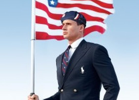 Ralph Lauren Olympic Uniforms 2012 Made in China worn by Ryan Lochte